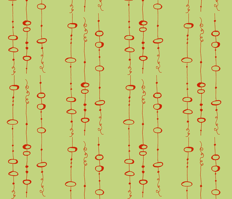 landing_wheat fabric by farmhousegirl on Spoonflower - custom fabric