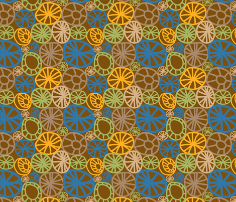 Wheels fabric by totallysevere on Spoonflower - custom fabric