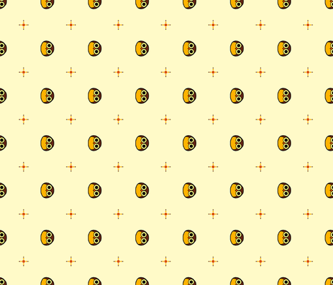 Hoot fabric by leighr on Spoonflower - custom fabric