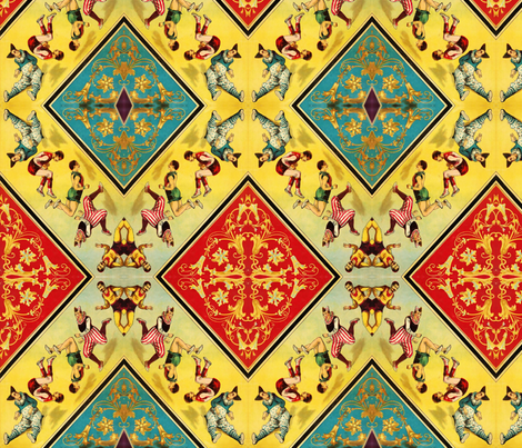 Circus fabric by nalo_hopkinson on Spoonflower - custom fabric