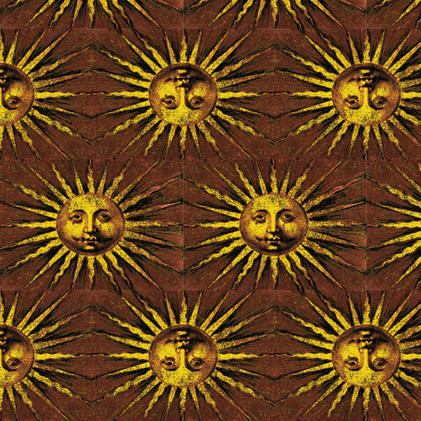 Here Comes the Sun fabric by nalo_hopkinson on Spoonflower - custom fabric