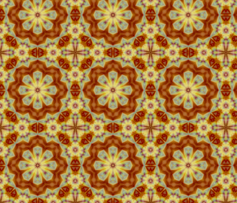 Emperor_s_SunFlower_tile_edited-32_large_edited-31 fabric by dreamwhisper on Spoonflower - custom fabric