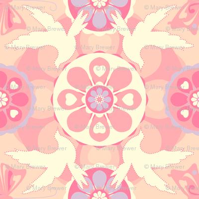 Friendship Birds - Pink