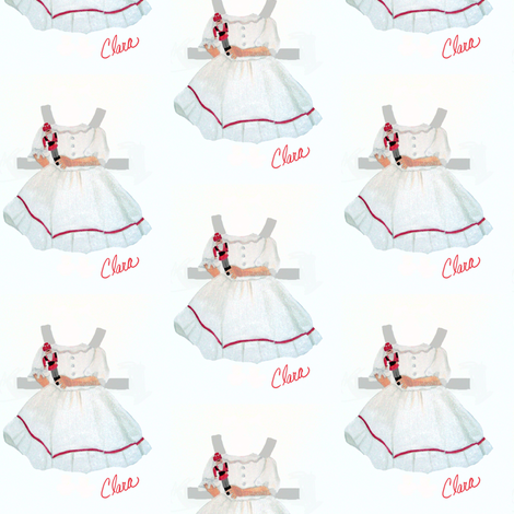 Paper Dolls for Clara fabric by karenharveycox on Spoonflower - custom fabric