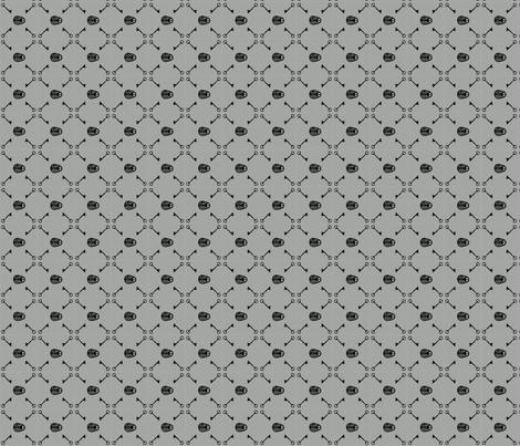 Under Lock & Key (Small) fabric by leighr on Spoonflower - custom fabric