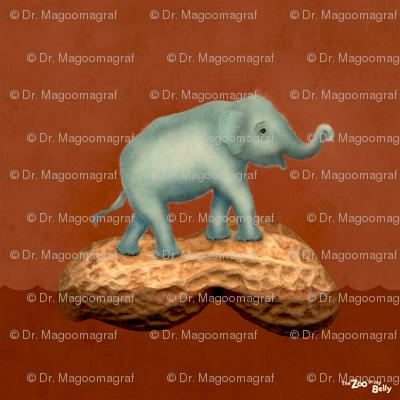 """Zoo in My Belly Elephant 15"""""""