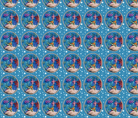 Little Sprite fabric by netti on Spoonflower - custom fabric