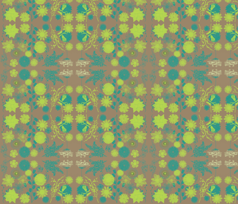 limeblue-tan_bg fabric by balanced on Spoonflower - custom fabric