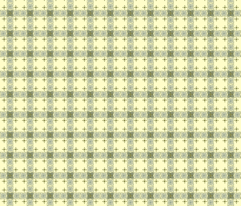 Heart & Scroll Plaid fabric by cksstudio80 on Spoonflower - custom fabric