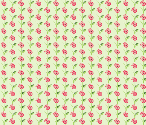 A rose is a rose. fabric by studiofibonacci on Spoonflower - custom fabric