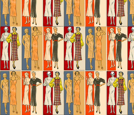 Fashionable fabric by nalo_hopkinson on Spoonflower - custom fabric