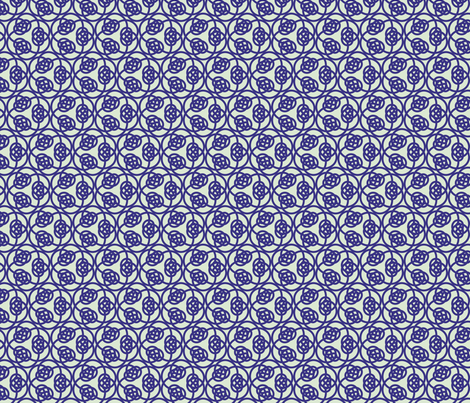 loveknots fabric by cottageindustrialist on Spoonflower - custom fabric