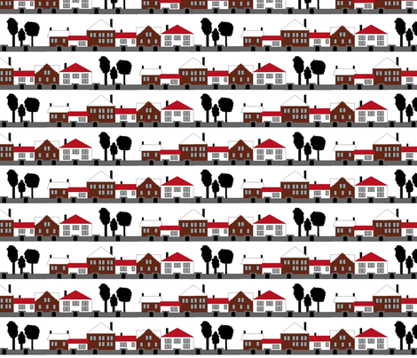 Suburbia fabric by jmaranez on Spoonflower - custom fabric