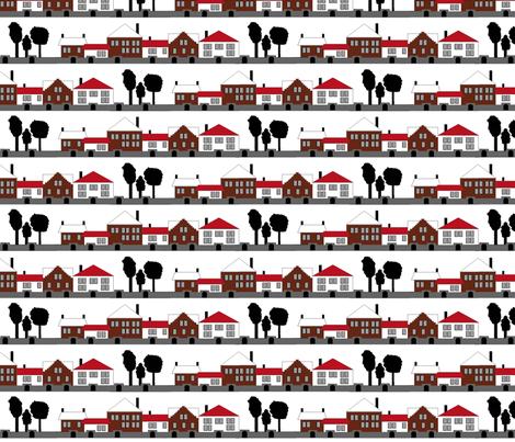 Suburbia fabric by jmaranez on Spoonflower - custom fabric