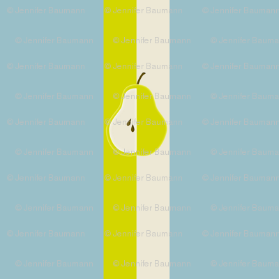 Pear Stripe