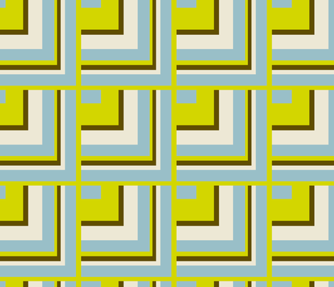 Geometric Squares fabric by dreamwhisper on Spoonflower - custom fabric