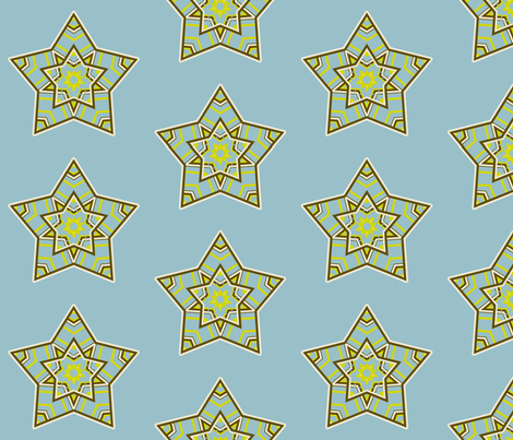star fabric by dreamwhisper on Spoonflower - custom fabric