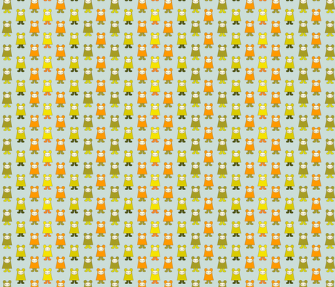 Kooky Crazy fabric by val_rousseau on Spoonflower - custom fabric