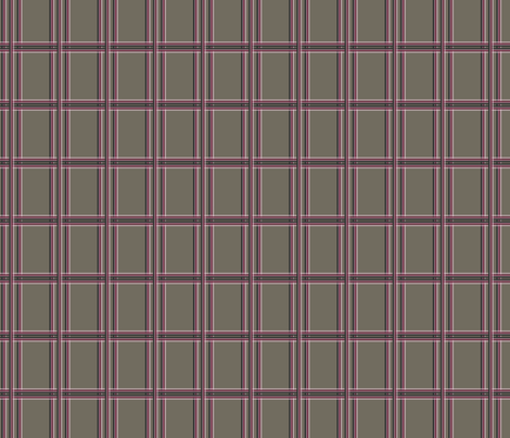 Pink Stripe/Plaid fabric by dreamwhisper on Spoonflower - custom fabric