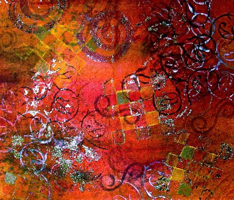 India_1 fabric by painteveryday on Spoonflower - custom fabric