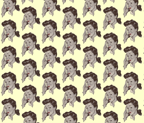 Mrs. Jones fabric by nalo_hopkinson on Spoonflower - custom fabric