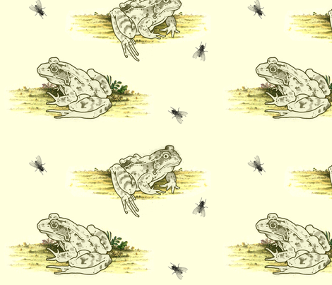 frogpattern fabric by ianophelan on Spoonflower - custom fabric