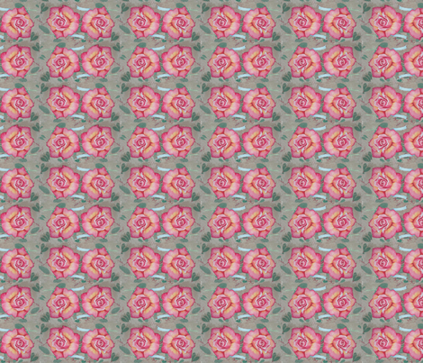 I See Roses fabric by helenklebesadel on Spoonflower - custom fabric