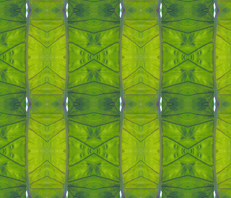 Spring Leaf fabric by janied on Spoonflower - custom fabric