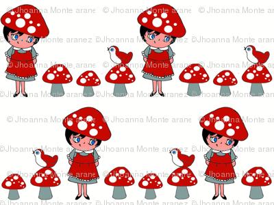 Little Mushroom Girl
