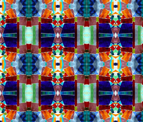 Stained Glass fabric by janied on Spoonflower - custom fabric