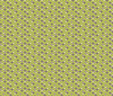 Gordon_Lime fabric by hellochloe on Spoonflower - custom fabric