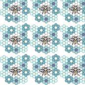 Honeybee_flower1b_aqua_copy_ed_shop_thumb