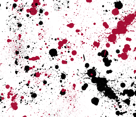 splatter fabric by daniellerenee on Spoonflower - custom fabric