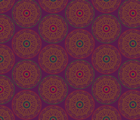 Alhambra fabric by hellochloe on Spoonflower - custom fabric