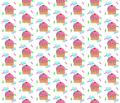 Cupcakes fabric by itybitybags on Spoonflower - custom fabric
