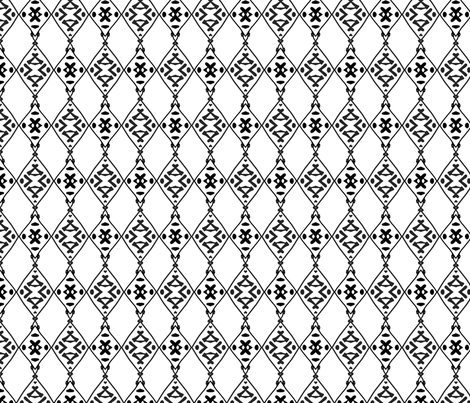 calligraphy Screen fabric by thatswho on Spoonflower - custom fabric
