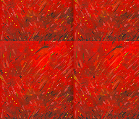 red fabric by margart on Spoonflower - custom fabric