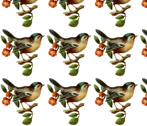 bird_on_a_twig fabric by kristenmary on Spoonflower - custom fabric