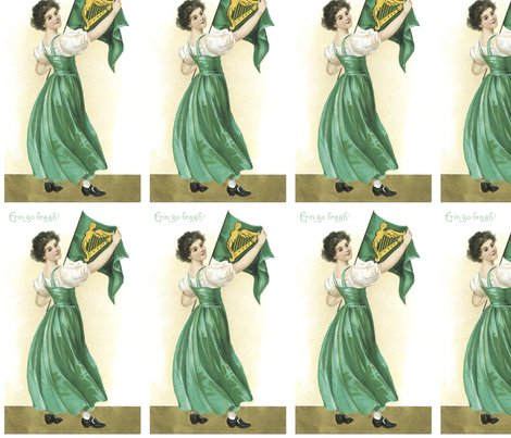 Irish_Erin_Go_Bragh fabric by kristenmary on Spoonflower - custom fabric