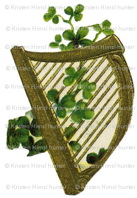 irish_harp_and_shamrock