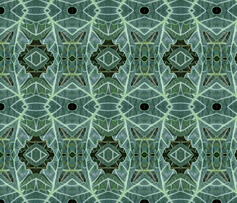 Plant Abstract 1 fabric by janied on Spoonflower - custom fabric