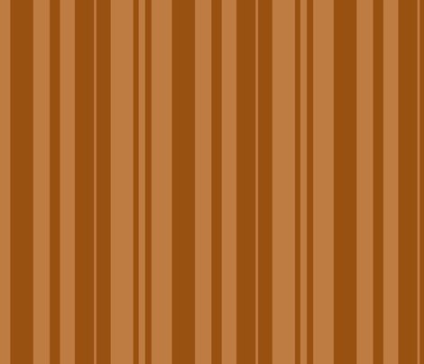 skull-candy-stripe_brown fabric by ophelia on Spoonflower - custom fabric