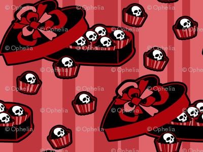 Skull Candy Box Pink