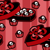 Skull Candy Box Pink