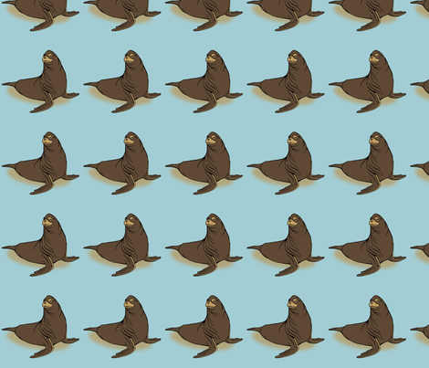 gnort_fabric fabric by birdnerd on Spoonflower - custom fabric