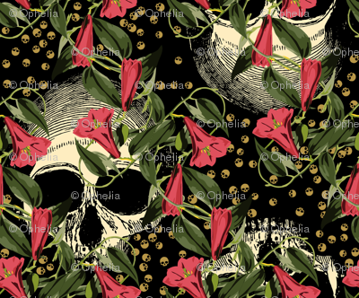 skulls-in-the-garden_black-pink