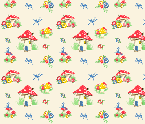 spoonflower_4_swatch fabric by pixieland on Spoonflower - custom fabric