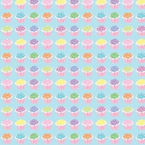 Star Sprinkle Cupcakes