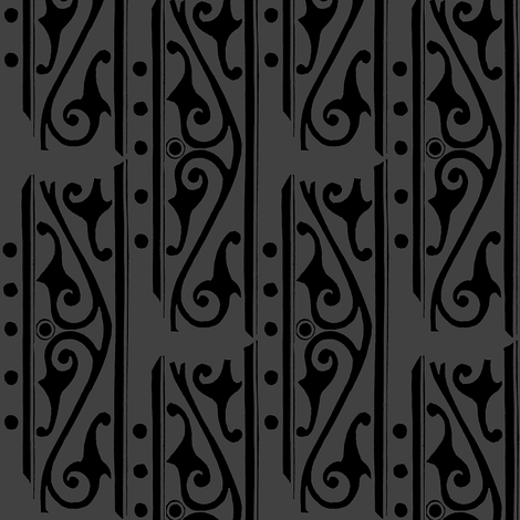 Scrollwork fabric by nalo_hopkinson on Spoonflower - custom fabric