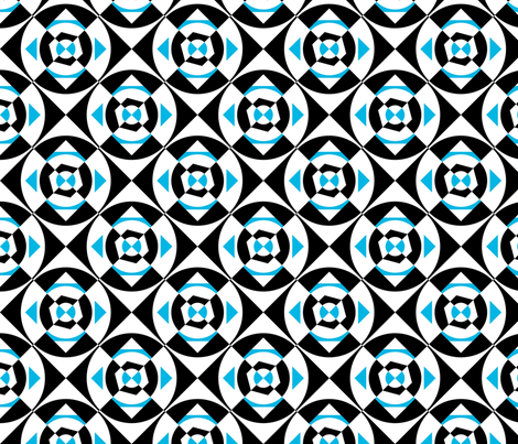 Bluelucy X07 fabric by phillipclark on Spoonflower - custom fabric